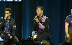 """Populiarumu besimėgaujantys """"Coldplay"""" gavo dar vieną privilegiją"""