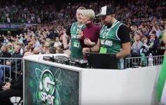 """Linksmybės """"Žalgirio"""" arenoje – fanų įspūdžiai ir neįtikėtina Eurolygos atmosfera"""