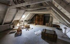 Ar verta įrengti seną palėpę?