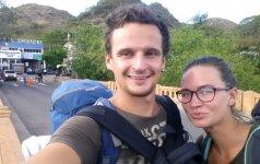 Po Lotynų Ameriką keliaujanti lietuvių pora: tai mūsų svajonė, kurioje gyvename taip, kaip norime