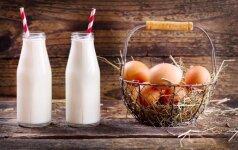 Kaip laikyti kiaušinius ir pieno produktus. Pasirodo, visą gyvenimą dariau tai negerai!