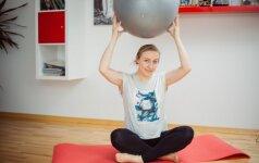 Mankšta padės sumažinti nemalonius pojūčius nėštumo metu