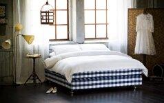 Miegamojo idėjos, dėl kurių nesinorės lipti iš lovos