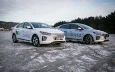 Elektrinis ir hibridinis Hyundai IONIQ modeliai