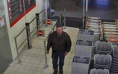 """Šiaulių policija ieško vyro, kuris įtariamas pasidarbavęs prekybos centre """"Bruklinas"""""""
