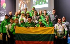 Lietuvos delegacija Lilehamerio jaunimo žiemos olimpinėse žaidynėse