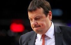 Turkijos vyrų krepšinio rinktinė liko be trenerio