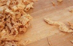 Pjuvenų ir drožlių panaudojimas mulčiavimui ir substratams