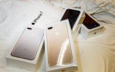 iPhone 7 pristatymas