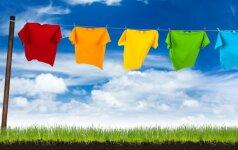 Kodėl drėgnų skalbinių džiaustymas viduje gali pakenkti jūsų sveikatai