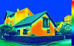 Kuo būstui naudinga termovizija?