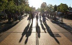 Palangoje mažėja poilsiautojų iš Rusijos