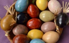 EKSPERIMENTAS: dažėme kiaušinius be chemijos – rezultatas nustebino FOTO