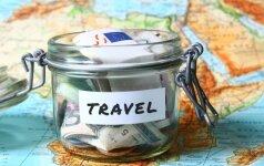 Patarimai, kaip sutaupyti keliaujant