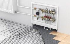 Vandens grindinis šildymas: svarbiausi žingsniai jį įrengiant
