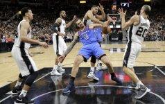 NBA pripažino, kad San Antonijuje teisėjai per 13 sekundžių suklydo 5 kartus