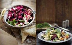 4 kitokių salotų receptai