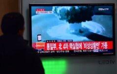 Vandenilinės bombos sprogimas Šiaurės Korėjoje suvirpino ir Lietuvos žemės gelmes