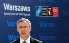 NATO Secretary General Jens Stoltenberg in Warsaw