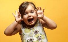 Dėl ko vaikai priverčia mus raudonuoti