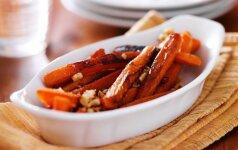 GARDUMĖLIS: saldžios, cinamoninės morkytės