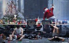 Kadras iš filmo Firmos kalėdinis balius
