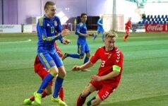 Lietuvos ir Ukrainos 17-mečių grumtynės