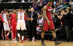 """NBA lygoje – trijų pratęsimų drama Orlande ir """"Heat"""" klubo sutriuškinimas"""
