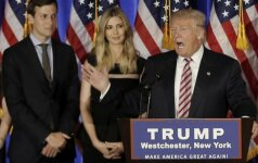 Jaredas Kushneris, Ivanka Trump ir Donaldas Trumpas