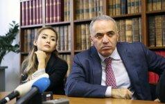 Šachmatų tremtinys G. Kasparovas vėl lankysis Lietuvoje