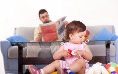 Ką daryti, jei vyras nesidomi gimusiu vaiku