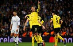 """UEFA Čempionų lyga: """"Borussia"""" nuliūdino """"Real"""", o lietuvis skyrė 11 m baudinį, po kurio krito kuriozinis įvartis"""