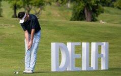 DELFI golfo turnyras Europos centro golfo klube