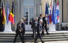 """Europos šalių lyderiai svarsto ES ateitį po """"Brexit"""" sukrėtimo"""