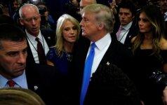 Kellyanne Conway, Donaldas Trumpas, Melania Trump