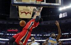 """NBA naktis: fenomenalus A. Daviso sugrįžimas, lenktynės Indianapolyje ir pamoka """"Rockets"""""""