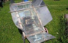 Darau pats: kaip išsikepti šašlykų naudojant tik saulės energiją