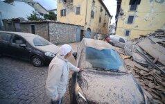 URM: nėra duomenų apie Italijoje nukentėjusius lietuvius