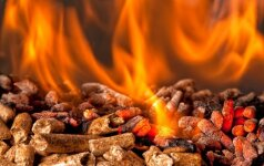 Kodėl medžio granulės laikomos efektyviu kuru?