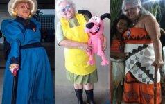 Idealiai į animacinių filmų herojus įsikūnijanti močiutė turi labai paprastą svajonę
