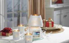 Žvakės, kurios padės sukurti namuose šventinę nuotaiką