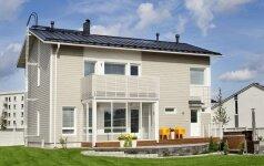 Sukurta pirmoji stogo danga su integruota saulės kolektorių sistema