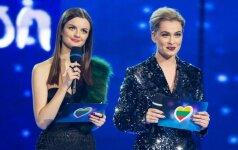 """""""Eurovizinę"""" kovą paliko dar septyni dalyviai"""