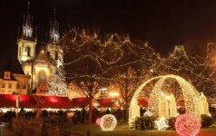 Kalėdinis laikotarpis Čekijoje masina mugėmis ir skanėstais