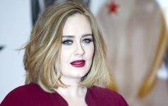 Be makiažo pasirodžiusi Adele - lyg visai kitas žmogus