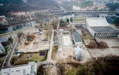 """""""Irdaivai"""" dar kartą nepavyko atnaujinti Sporto rūmų rekonstrukcijos konkurso"""