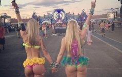 "Merginos iš ""Electric Daisy Carnival"" festivalio"