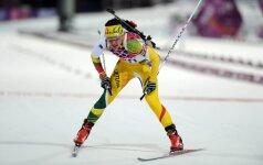 Lietuviai pasaulio biatlono taurės estafetėje – paskutiniai