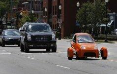 """""""Elio Motors"""" triratis automobilis"""