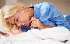 Kodėl turime kūdikiams kuo dažniau žiūrėti į akis?